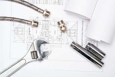 plumbing-and-drawings-construction-still