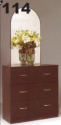 114 - Dresser with Mirror