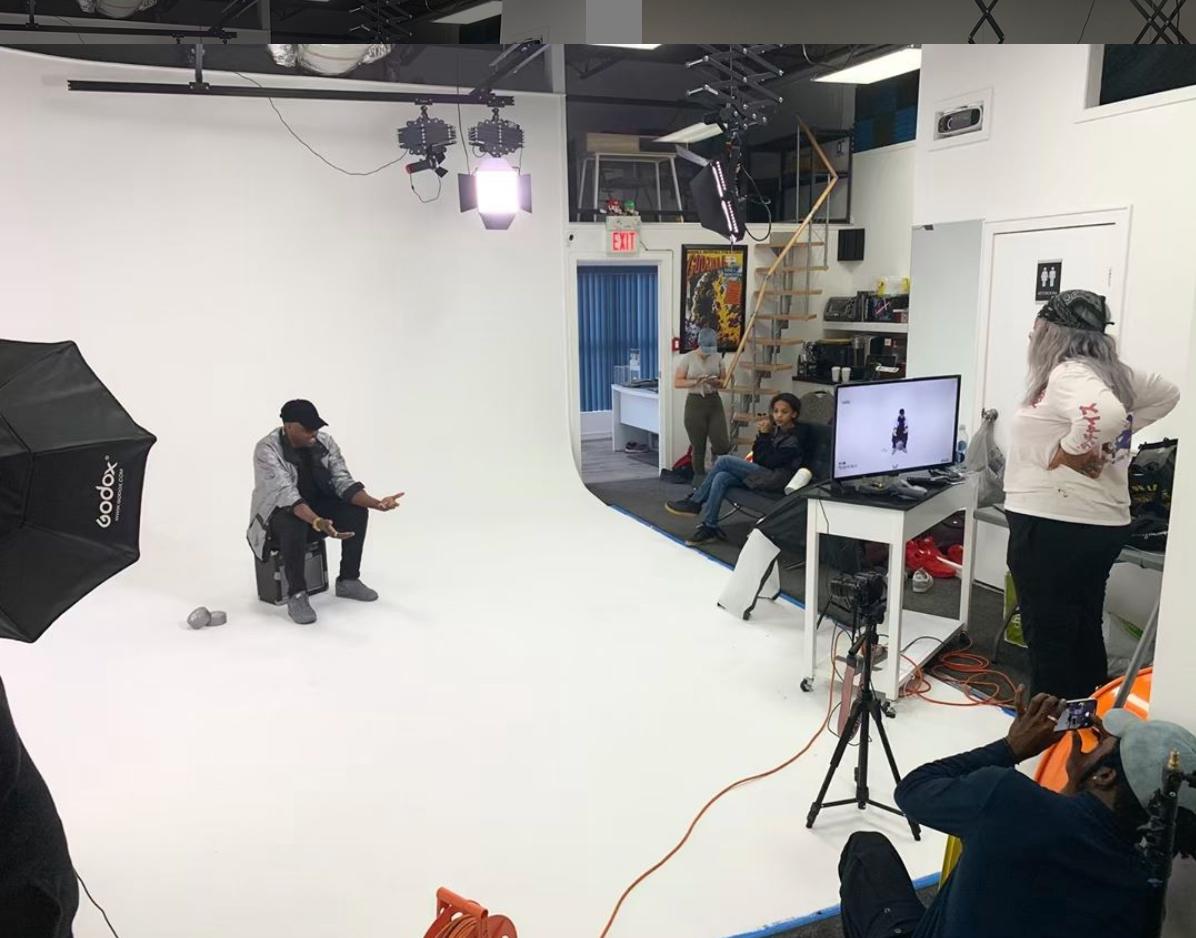 Rap Music Video Filmed in Blue Phoenix Studios