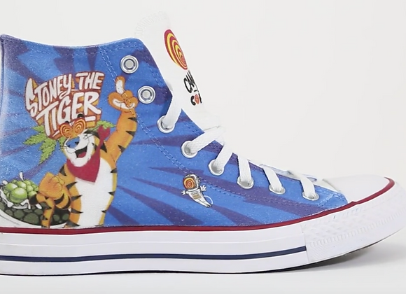 Stoney The Tiger Converse Shoes