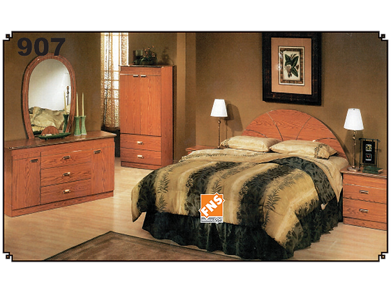 907 - Double Bedroom Set