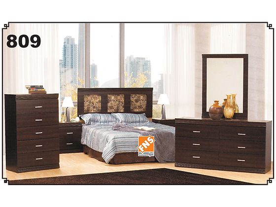 809 - Double Bedroom Set