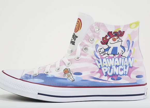 Hawaiian Punch Converse Shoes