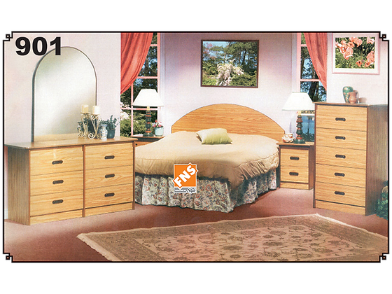 901 - Double Bedroom Set