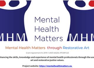 Restorative Justice for All - Mental Health Matters through Restorative Art