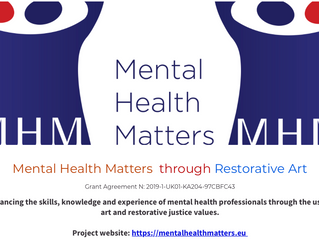 Restorative Justice for All - Mental Health Matters through Restorative Art