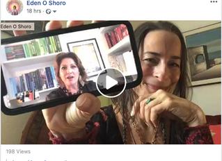 Eden Orfanos Shoro, MA interview on Jenna Mammina's 11:11