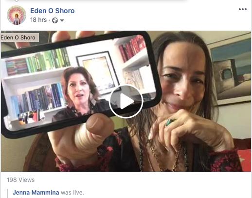 Eden O Shoro with Jenna Mammina
