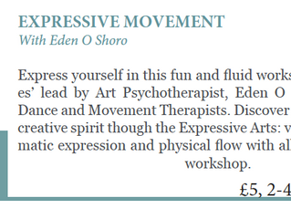 Expression & Movement                       Workshop at Retreat Yoga