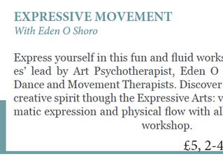 Expression & Movement                       Workshop at Retreat Yoga