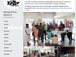 Expressive Arts with the ZipZap Team @ the Academy