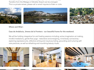 Art and Om Retreat - Andalucia, Spain