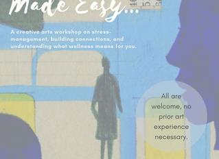 Creative Self-Care for Wellness Week at Grammarly, Kyiv, Ukraine