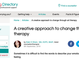 A creative approach to change through art therapy