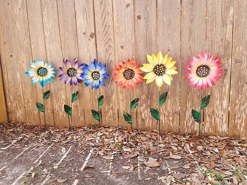 Memorial Metal Garden Flower