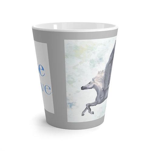 Latte Mug featuring #Rise Above