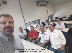 Jacto Treinamento ISO 14001 Pompeia Outubro 2017