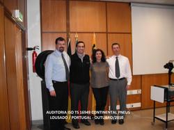 Auditoria ISO TS Continental Mabor Portugal Outubro 2010
