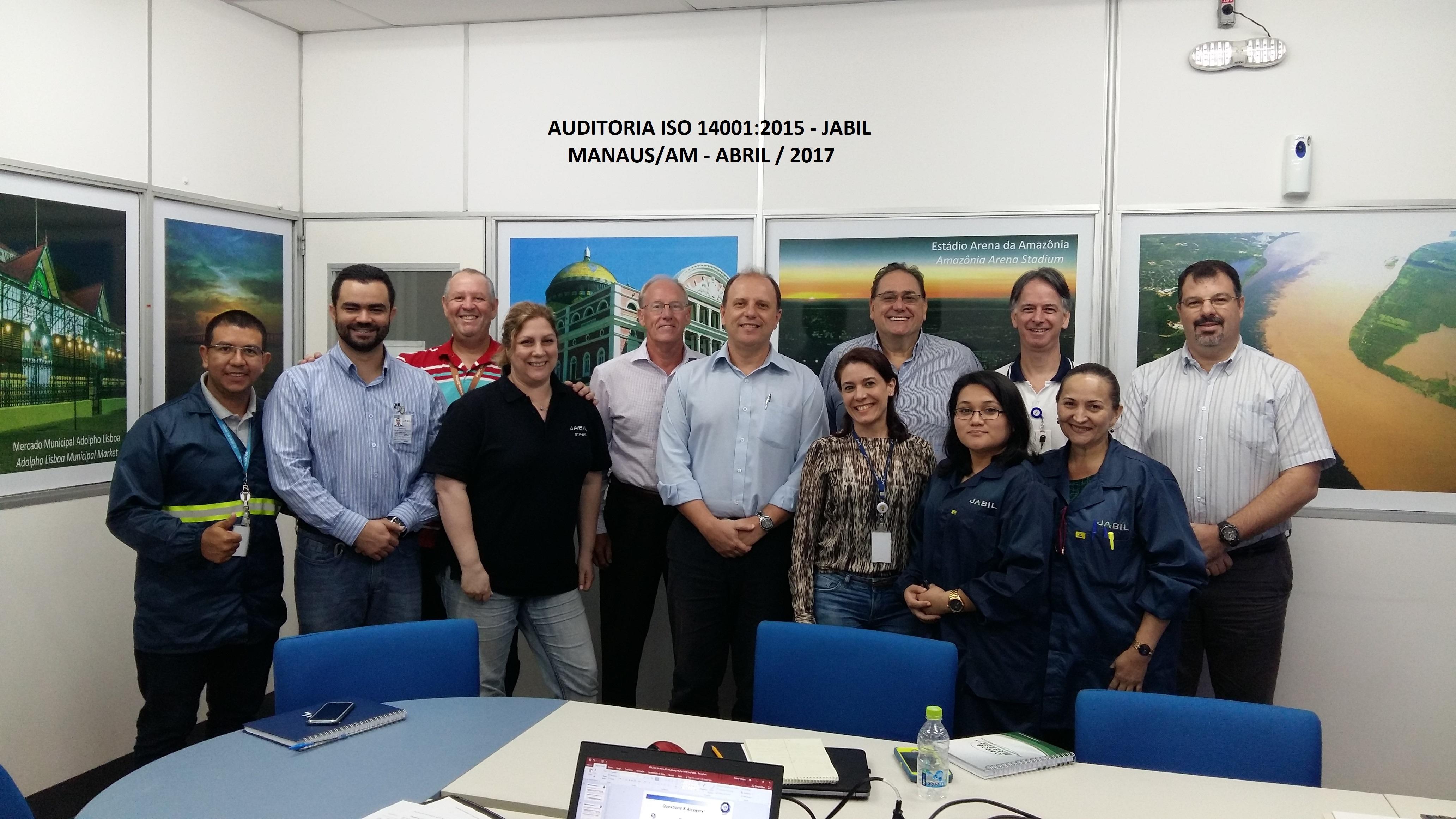 Auditoria Jabil Manaus Abril 2017