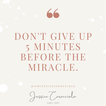Common Wisdom: Don't Give up 5 Minutes Before the Miracle