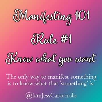 The #1 rule of Manifesting