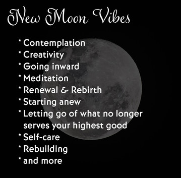New Moon Vibes in July
