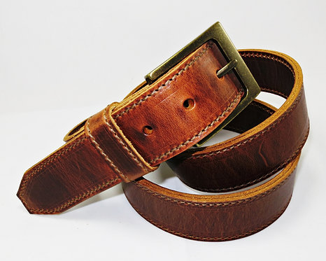 Stitched Leather Belt