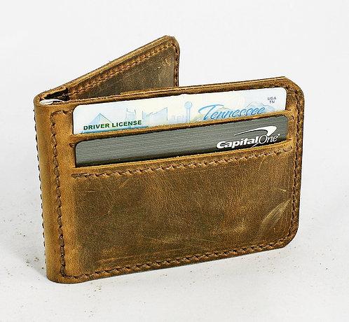 Bifold Money Clip Wallet