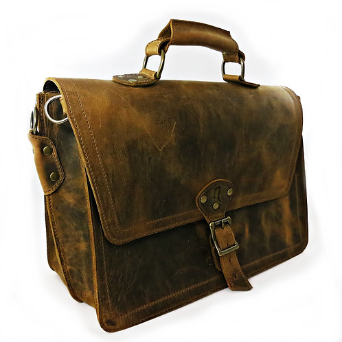 Double Compartment Briefcase