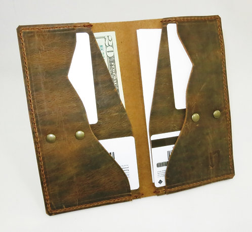 Leather Ranch Hand Bifold Wallet