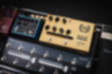 Victory V4 The Sheriff Pedal Preamp on Pedalboard