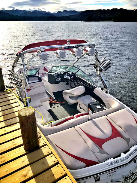 Ullswater Wake and Surf Boat Mastercraft x2