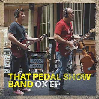That Pedal Show Band Ox EP Cover
