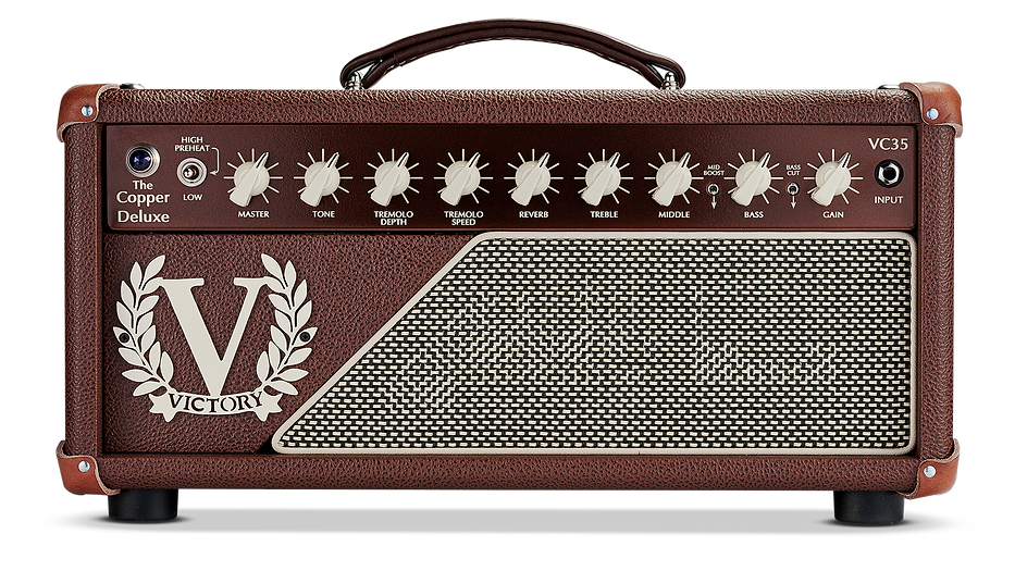 VC35 The Copper Deluxe Amp Head
