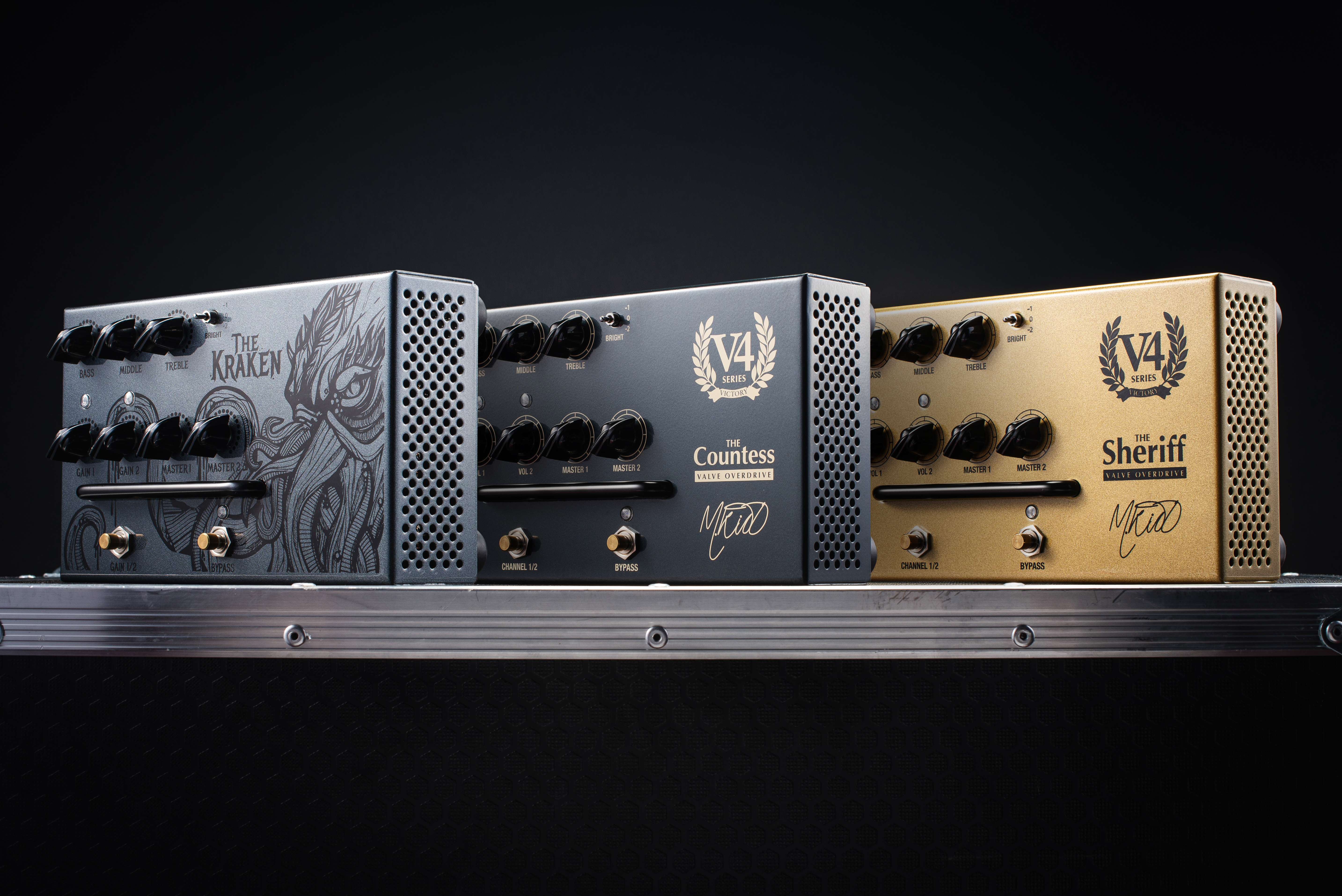 Victory Pedal Preamps