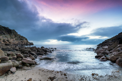 Sunrise at Penberth Cove