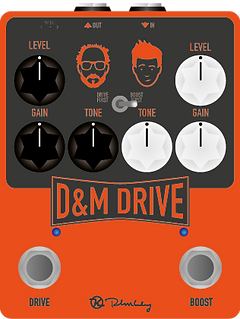 D&M Drive Pedal Artwork