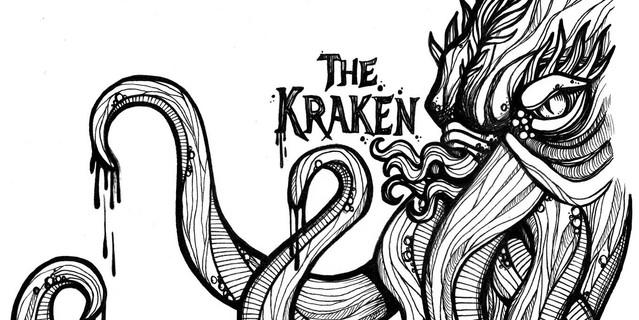 Victory V4 The Kraken Artwork Sketch