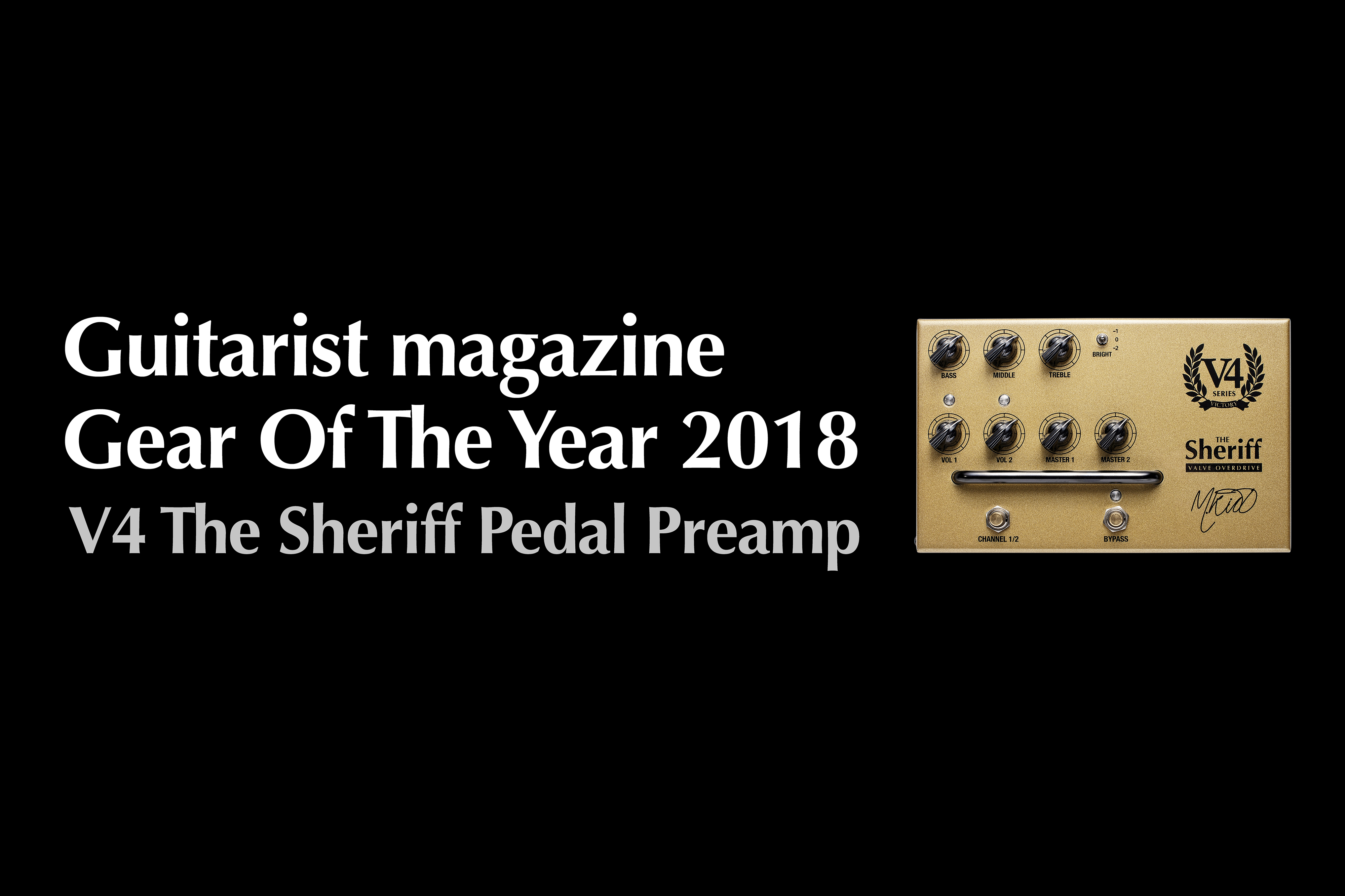 V4 Sheriff Gear of the Year 2018