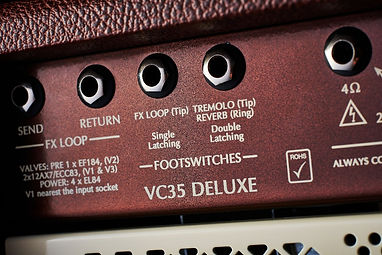 Victory VC35 Deluxe Head - Series FX Loop