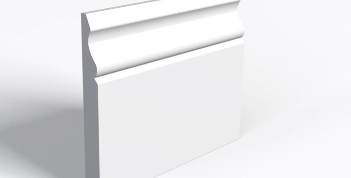 """5"""" OGEE Moulded Skirting 18x119x4.2"""