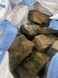 Scrabo Sandstone Tonne Bags
