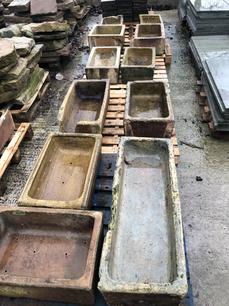 Stoneware Troughs