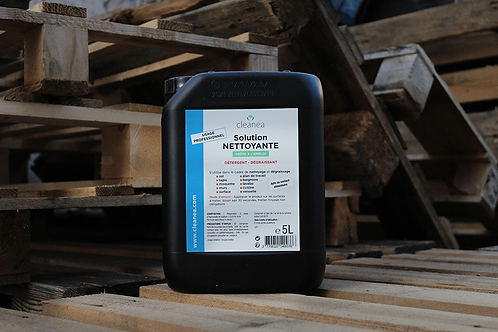 Bidon 5 L - Solution Bleue Nettoyante