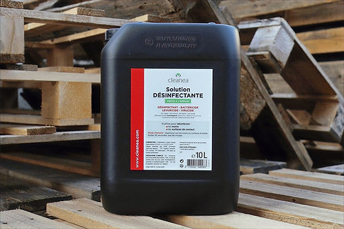 Bidon 10L - Solution Mains ET Surfaces Désinfectante