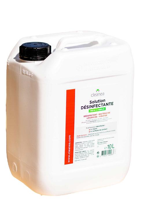 Bidon 10L - Solution Rouge Désinfectante