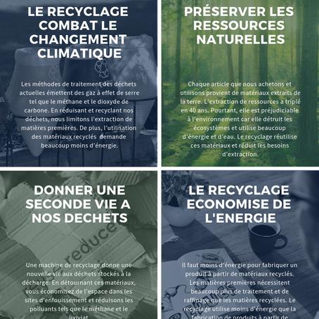 Infographie: 5 bonnes raisons de valoriser vos déchets