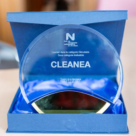 Cleanea Lauréat OR de la Première Edition de la Nuit de l'Economie Collaborative et Circulaire 2017