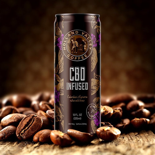 CBD INFUSED NITRO COLD BREW
