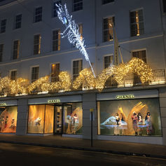 CHANEL STORE CHRISTMAS DECORATIONS 2016